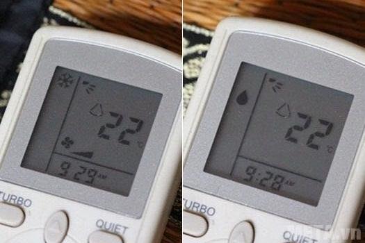 Tiết kiệm với chế độ Dry trên điều hòa