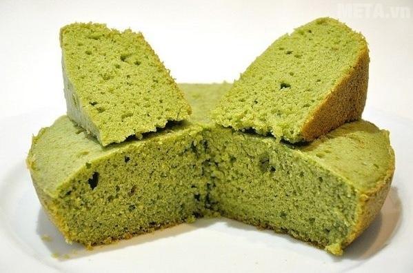 Cách làm bánh bông lan trà xanh tại nhà