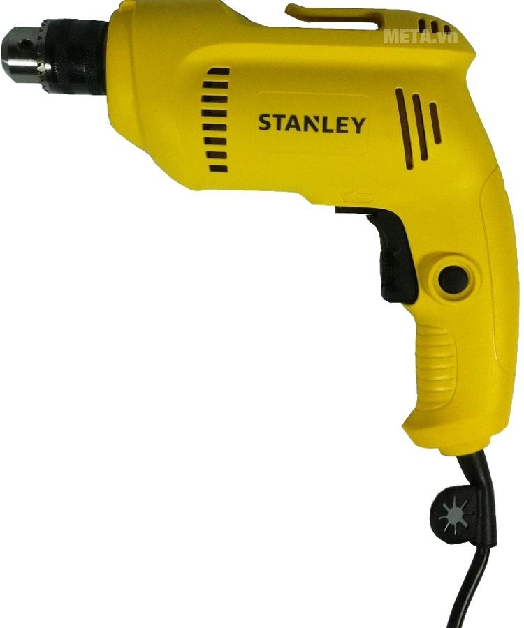 Máy khoan sắt Stanley STDR5510 dùng khoan gỗ và khoan sắt
