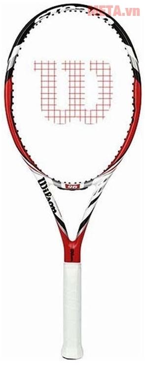 Vợt Tennis Wilson STEAM 96 TNS FRM 2 WRT7151102 với thiết kế thời trang.