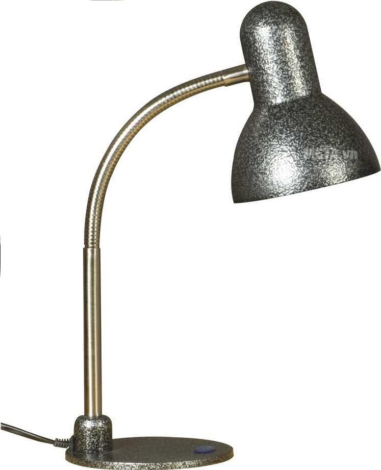 Đèn bàn kiểu cổ cao cấp V-light MCL-11W với thiết kế màu bạc.