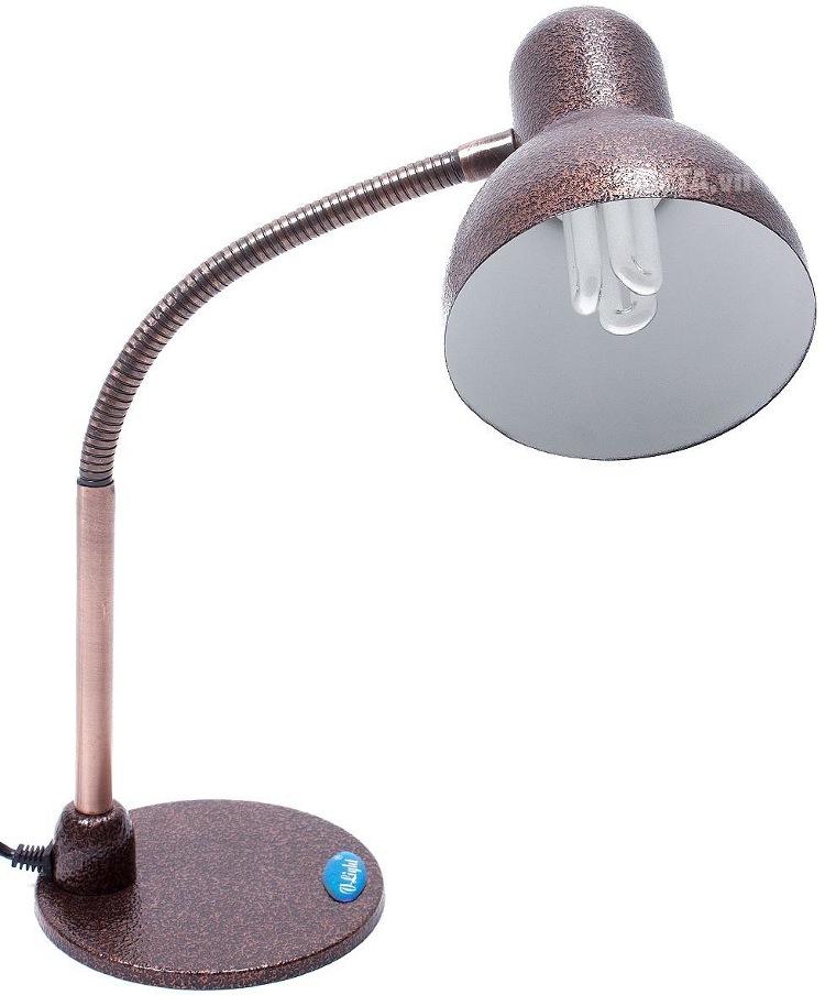 Đèn bàn kiểu cổ cao cấp V-light MCL-11W với thiết kế màu đồng vàng.