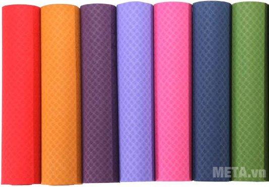Thảm Yoga TPE Đài Loan thiết kế chất liệu an toàn, bền