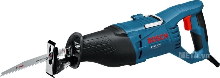Máy cưa kiếm Bosch GSA 1100 có màu xanh nhã đẹp mắt.