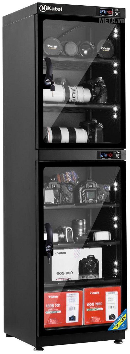 Tủ chống ẩm cao cấp Nikatei NC-180S (180 lít)