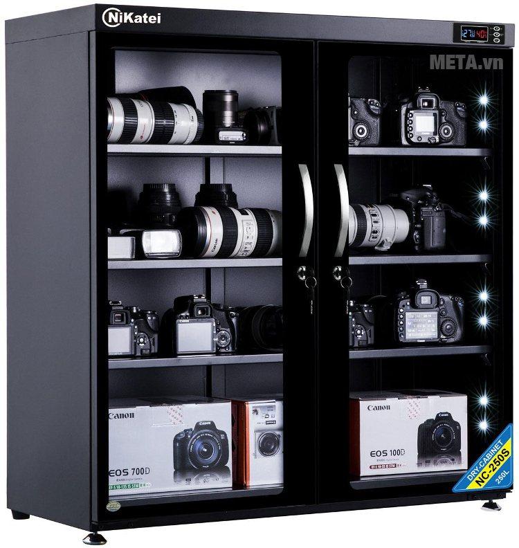Tủ chống ẩm cao cấp Nikatei NC-250S (235 lít).