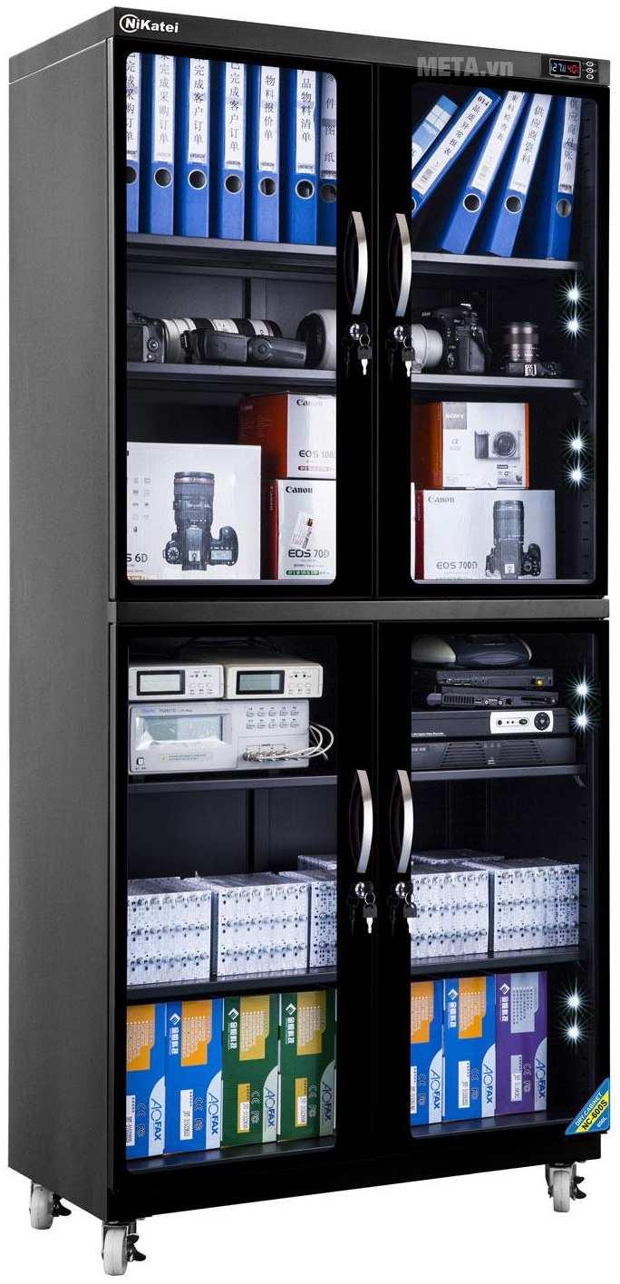 Tủ chống ẩm cao cấp Nikatei NC-600S (580 lít).