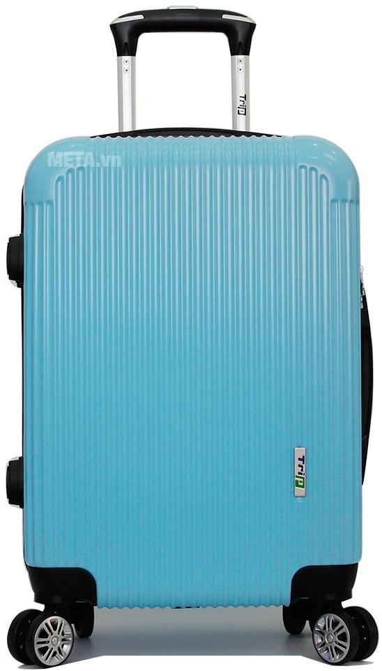 Vali Trip P807A size 60cm với màu xanh ngọc.