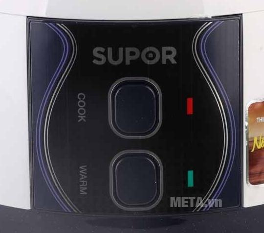 Nồi cơm điện Supor CFXB50YB13VN có chế độ giữ ấm.