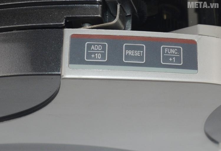 Các phím chức năng của máy đếm tiền Jingrui JR 2880