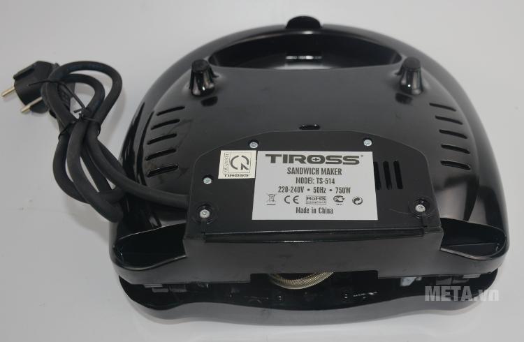 Kẹp nướng sandwich Tiross TS-514 có nhiều lỗ tản nhiệt