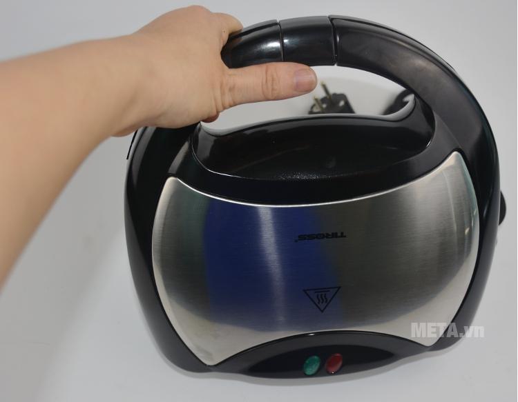 Kẹp nướng sandwich Tiross TS-514 có tay cầm bọc nhựa