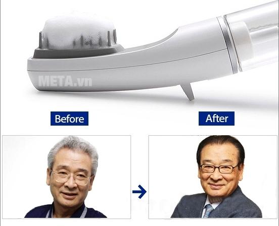 Lược nhuộm tóc thông minh Hàn Quốc giúp nhuộm tóc nhanh và đều màu.