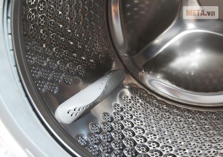 Lồng giặt có thiết kế thông minh, tiện dụng