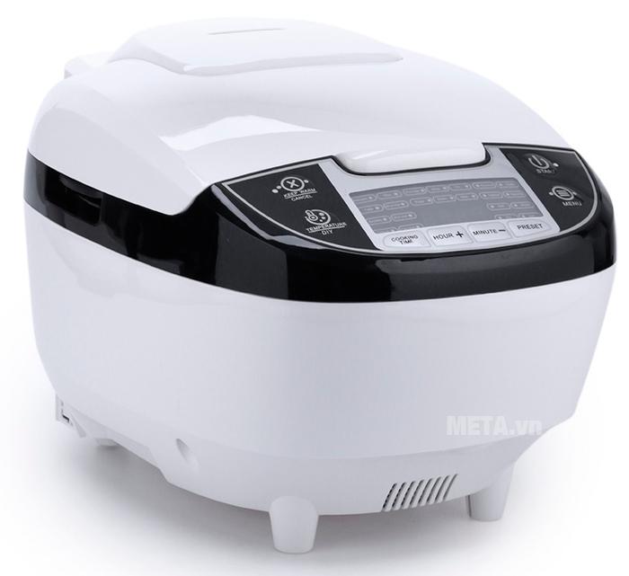 Máy làm tỏi đen nhiệt 4D ceramic Perfect PF-MC108 màu trắng