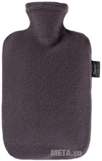 Túi chườm nóng lạnh Fashy 6530-21 bọc lông cừu màu than