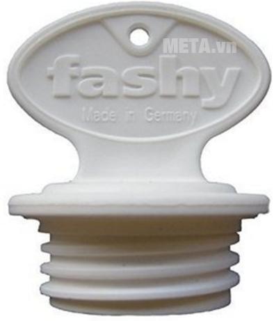 Túi chườm nóng bọc lông cừu trẻ em Fashy 6505-44 với nút túi.