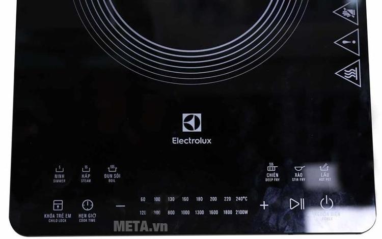 Bếp điện từ Electrolux ETD42SKR có hẹn giờ