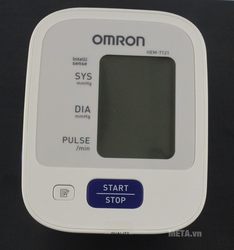 Máy đo huyết áp bắp tay tự động Omron HEM-7121 có màn hình LCD lớn