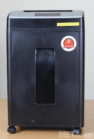Máy hủy tài liệu Silicon PS-910LCD có màu đen sang trọng