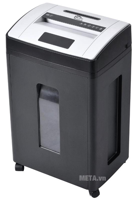 Máy hủy tài liệu Silicon PS-910LCD có thân máy bằng nhựa