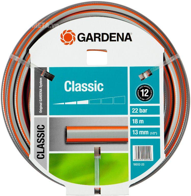 Cuộn ống dây 18m 1/2'' 13mm Gardena 18002-20