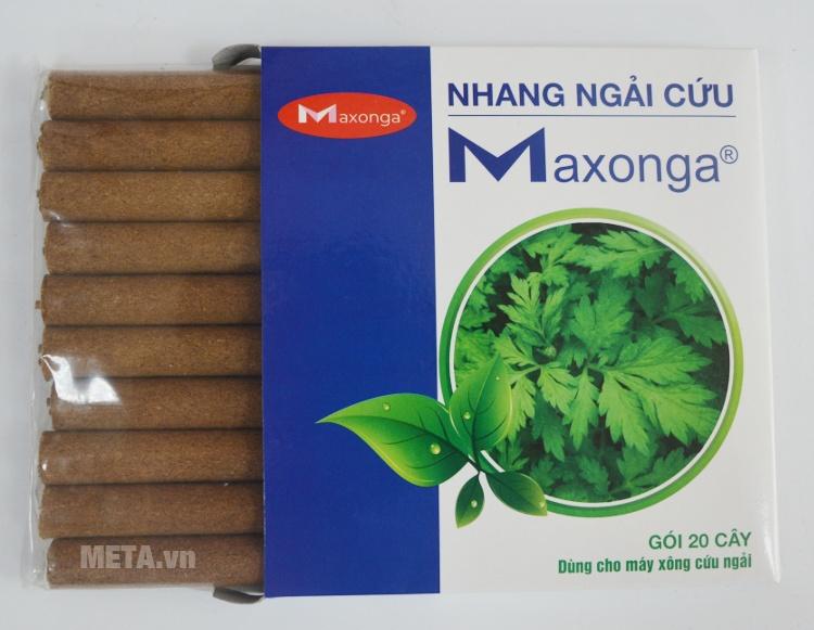 Điếu ngải đi kèm với máy xông cứu ngải Maxonga 2016