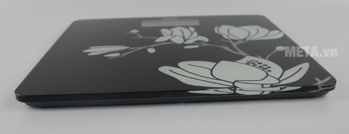 Cân điện tử mặt kính Beurer GS211 Magnolia thiết kế cân chắc chắn, dày dặn