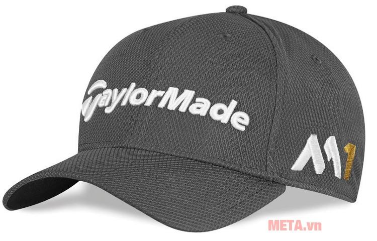 bbcf3122a30 Mũ golf nam TaylorMade New Era Tour 39Thirty (B12005) màu than chì