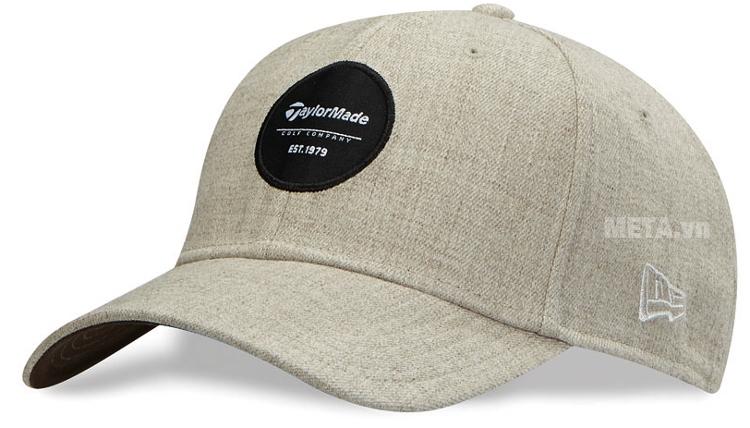 76e93bfee12 Mũ golf nam Taylormade New Era 39Thirty Crest (B11741) có đường may chắc  chắn