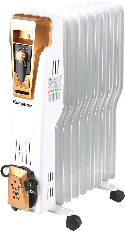 Máy sưởi dầu Kangaroo 9 thanh KG950