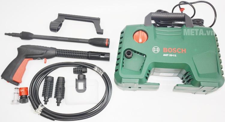 Máy rửa xe Bosch Aquatak-33-11 với trọn bộ.