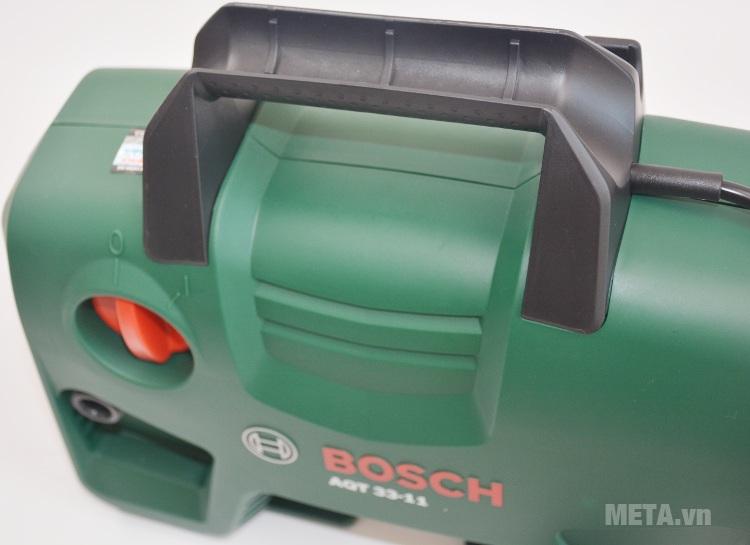Máy rửa xe Bosch Aquatak-33-11 với thiết kế vỏ ngoài bằng nhựa cao cấp.