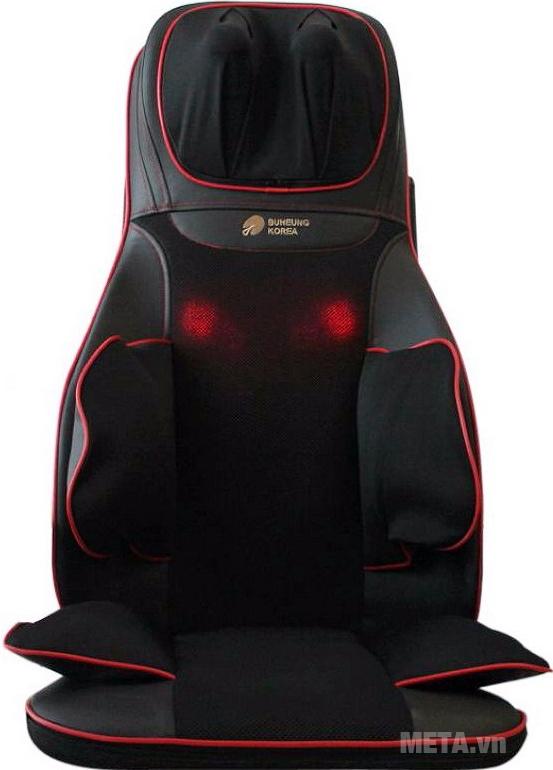 Đệm ghế massage Buheung MK-315 được làm bằng chất liệu cao cấp,
