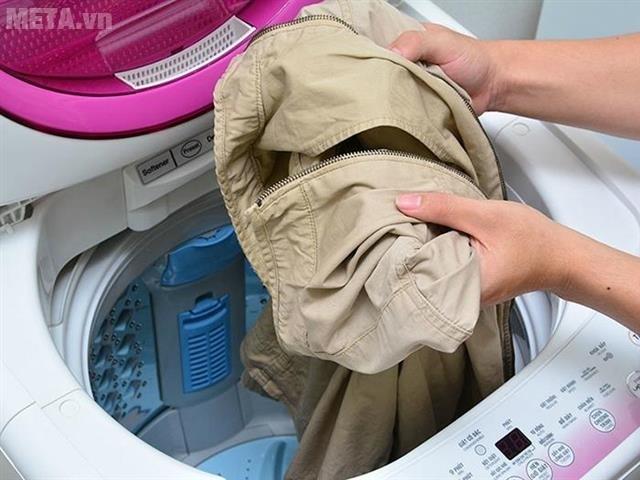 Chương trình dễ ủi sẽ làm cho quần áo ít nhăn hơn