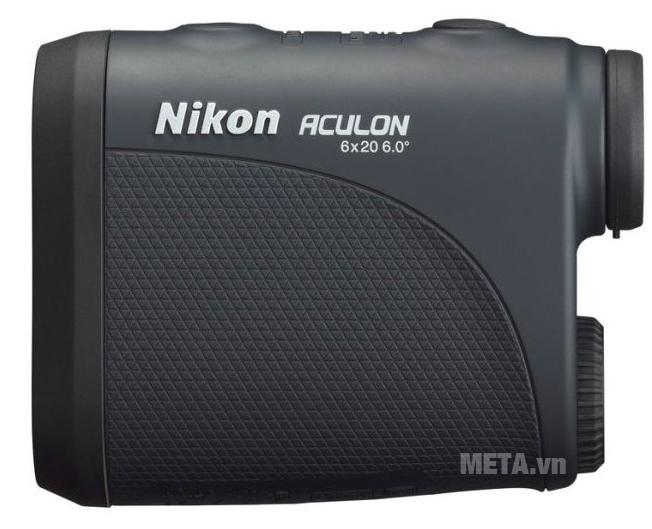 Ống nhòm đo khoảng cách Nikon Aculon AL11 thiết kế vân sần cầm không bị trơn trượt.