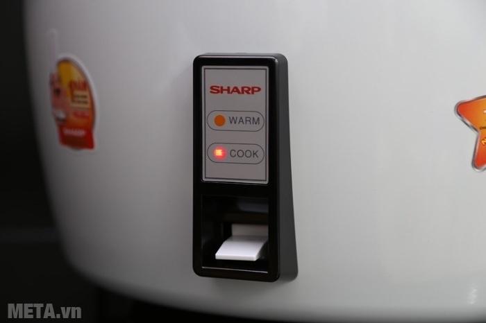 Nồi cơm điện Sharp nắp rời KSH-777V (KSH-D77V) có 1 nút bấm duy nhất