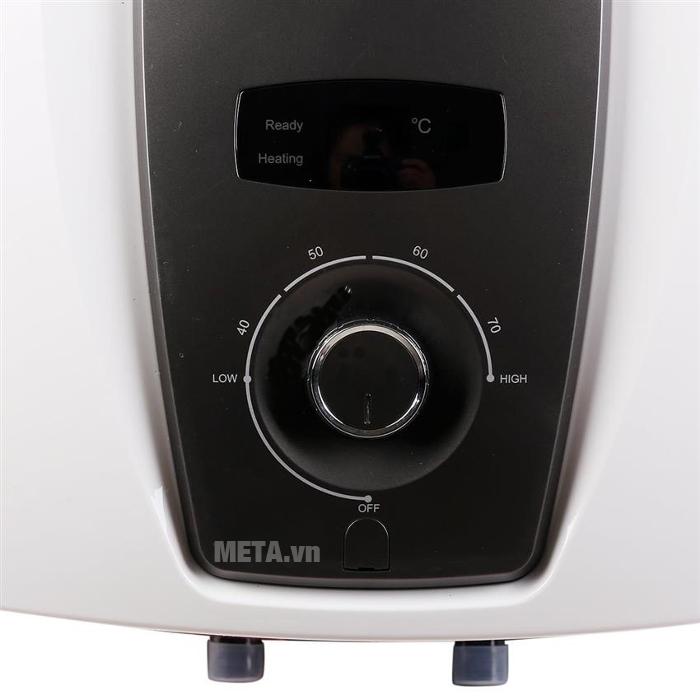 Bình nước nóng gián tiếp Midea D30-25VA1 điều chỉnh được nhiệt độ nước