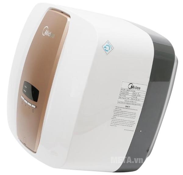 Bình nước nóng gián tiếp Midea D30-25EVA sử dụng công suất 2.500W giúp làm nóng nước nhanh.