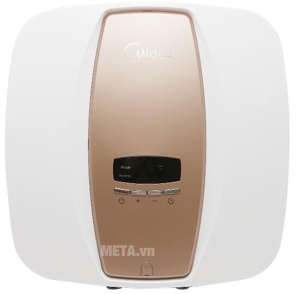 Bình nước nóng gián tiếp Midea D30-25EVA có màu sắc sang trọng.