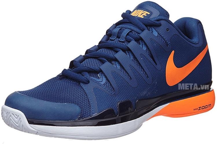 Nike Zoom Vapor 9.5 Tour 631458-401 thiết kế mũi giầy uốn cong thật mềm dẻo.