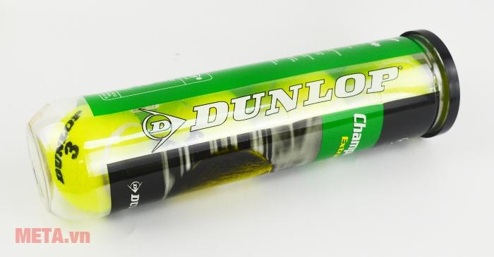 Bóng tennis Dunlop Championship Extra Duty có màu vàng chanh