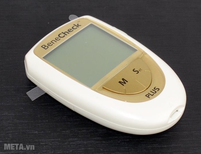 Máy đo đường huyết 3 trong 1 Benecheck Plus dùng cho gia đình