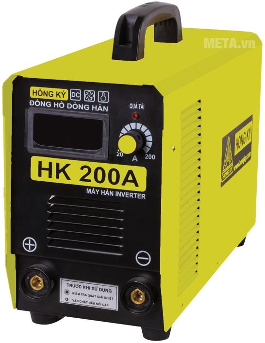 Máy hàn điện tử Hồng Ký HK 200A có trọng lượng chỉ 8.5kg