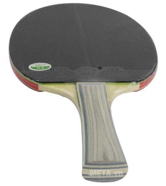 Vợt bóng bàn 729-1060 New thiết kế tay cầm dạng vân gỗ đẹp mắt.