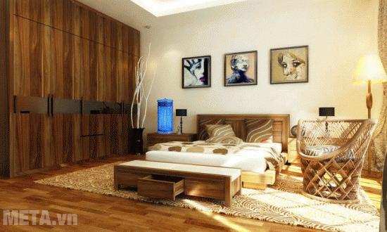 Đèn diệt côn trùng DS-D6 có thể dùng ở phòng ngủ.