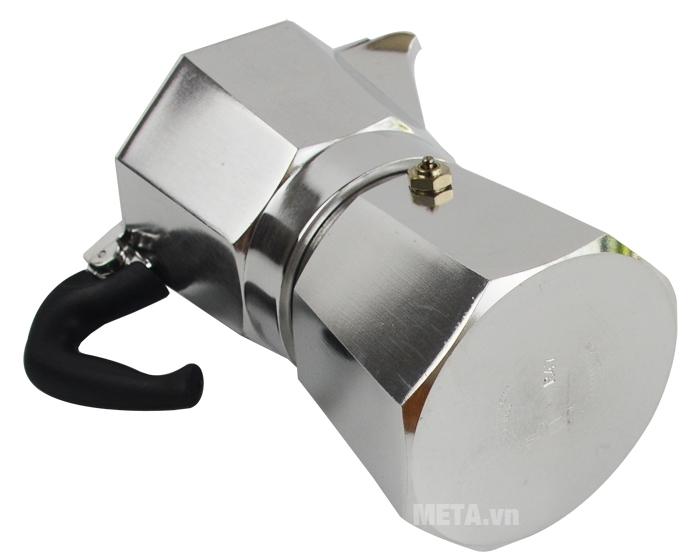 Ấm pha cà phê Moka Express 4TZ BCM-1164 được làm dày, chắc chắn.