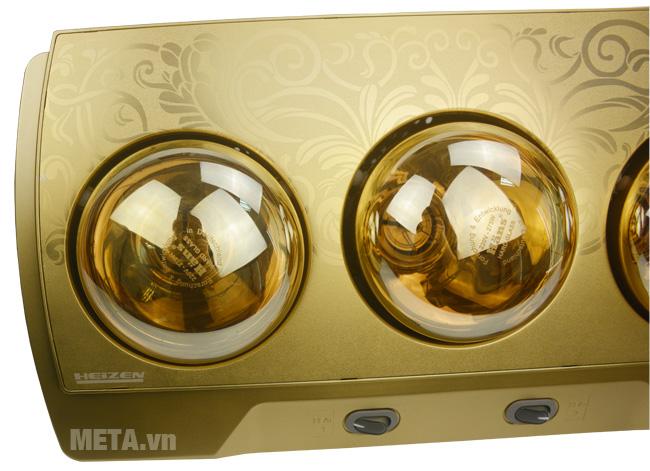 Bóng đèn sưởi nhà tắm điều khiển Heizen HE3BR chống thấm khi gặp nước