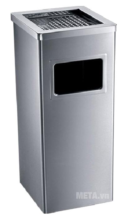 Thùng rác inox ECO 115 bền đẹp theo thời gian.