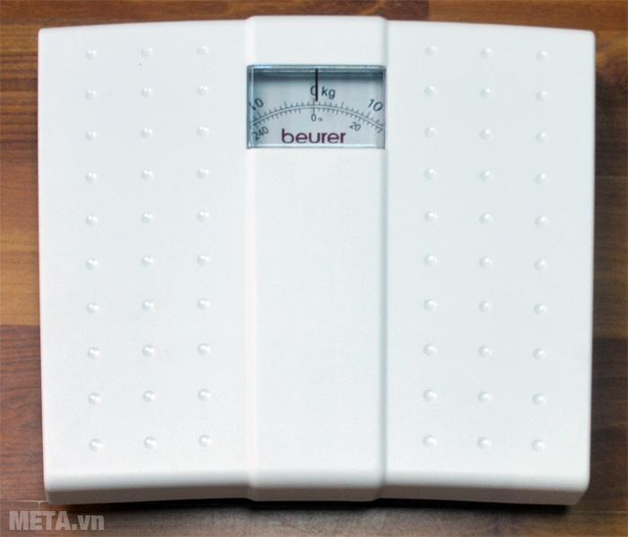 Cân cơ học Beurer MS01 với thiết kế màu trắng tinh tế.